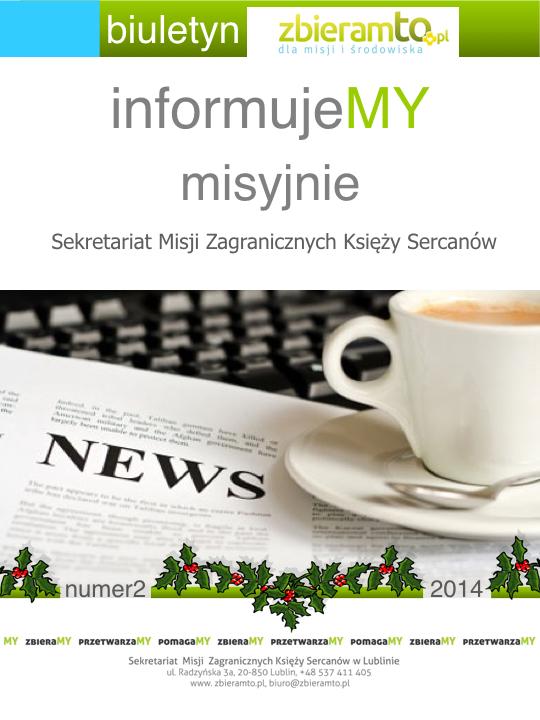 e-biuletyn informujeMY misyjnie nr 2 2014